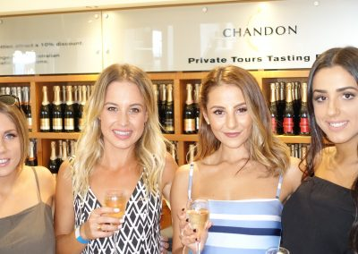Girls at Domaine Chandon